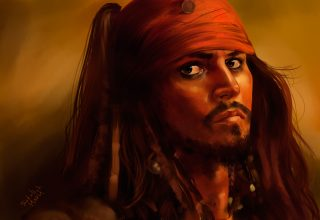 Jack Sparrow 5k Art Wallpaper