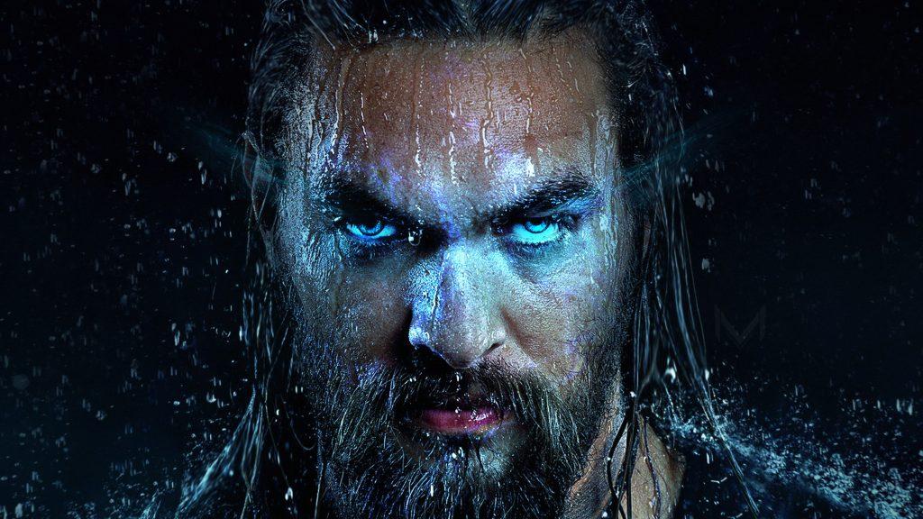 Jason Momoa in Aquaman Movie Wallpaper