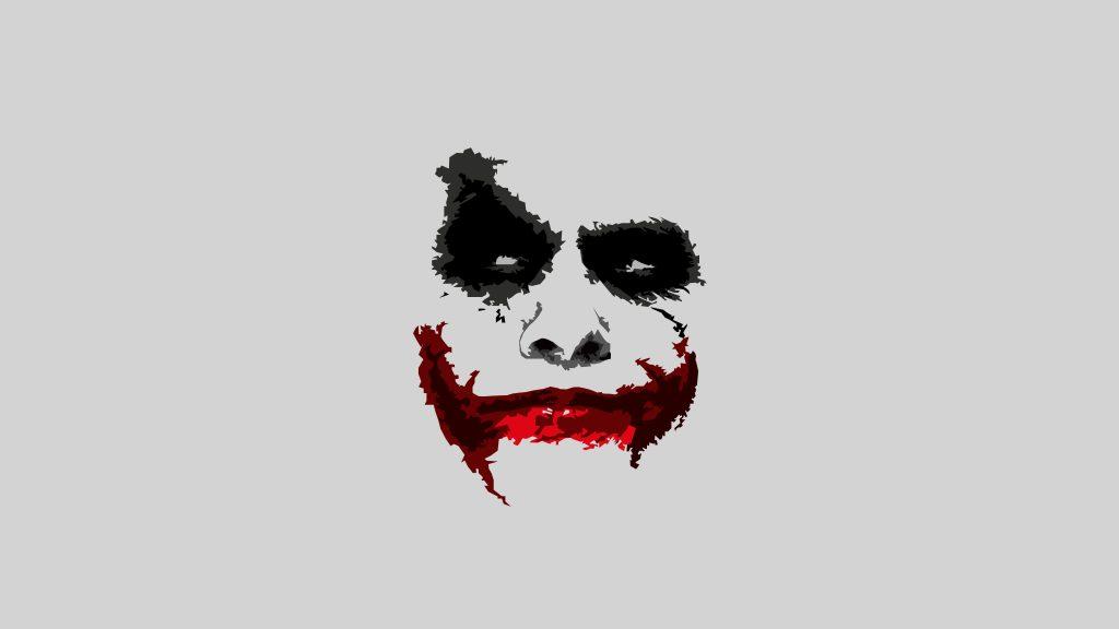 Joker 8k Minimalism Wallpaper