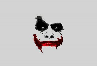Joker 8k Minimalism Wallpaper