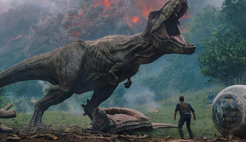 Jurassic World: Fallen Kingdom Movie Wallpaper