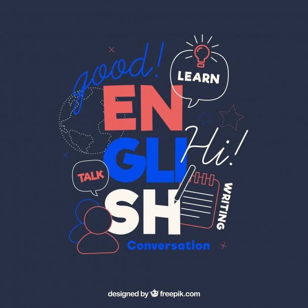 دانلود وکتور Languages concept with flat design