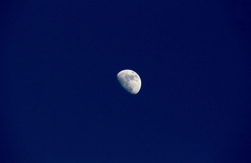 Moon Sky Astronomy 5k Wallpaper
