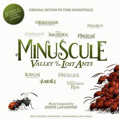 دانلود موسیقی متن فیلم Minuscule: Valley of the Lost Ants