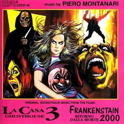 دانلود موسیقی متن فیلم La Casa 3: Ghosthouse / Frankenstein 2000