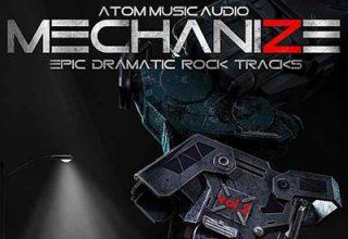 دانلود آلبوم موسیقی Mechanize, Vol. 2: Epic Dramatic Rock Tracks توسط Atom Music Audio