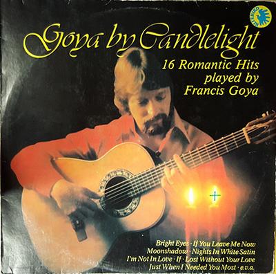 دانلود آلبوم موسیقی Goya By Candlelightتوسط Francis Goya