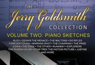 دانلود مجموعه موسیقی متن فیلم Jerry Goldsmith - Collection 2: Piano Sketches