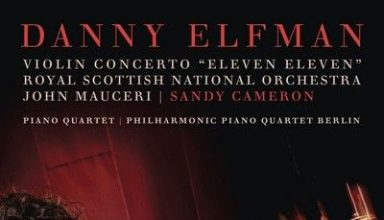 """دانلود آلبوم موسیقی متن Violin Concerto """"Eleven Eleven"""" and Piano Quartet"""