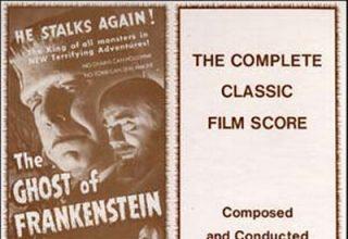 دانلود موسیقی متن فیلم The Ghost of Frankenstein