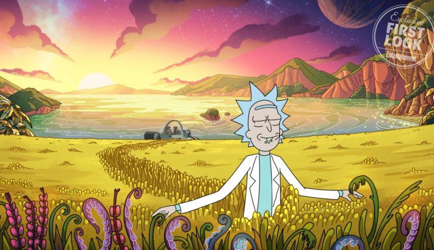 اولین تصاویر از فصل چهارم Rick and Morty