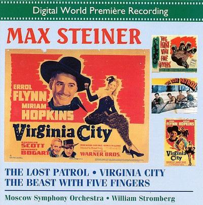 دانلود موسیقی متن فیلم The Lost Patrol / Virginia City / The Beast With Five Fingers
