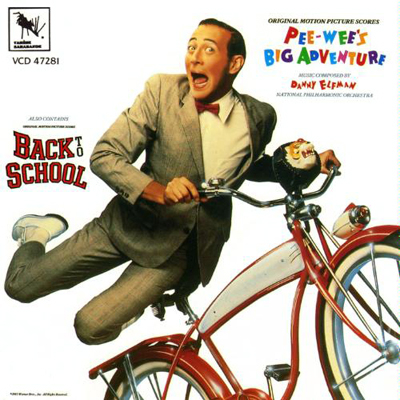 دانلود موسیقی متن فیلم Pee-wee's Big Adventure / Back To School