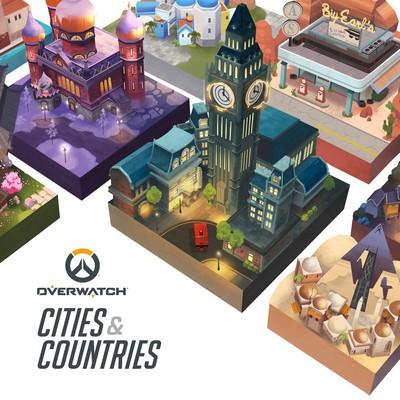 دانلود موسیقی متن فیلم Overwatch Cities & Countries