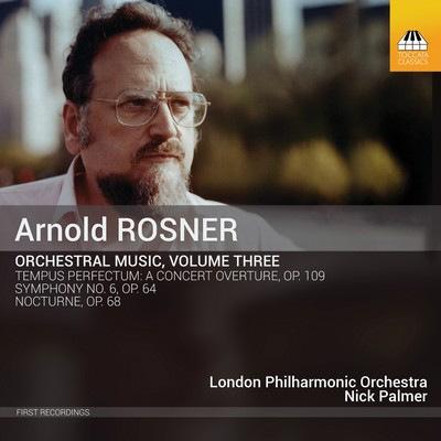 دانلود موسیقی متن فیلم Rosner: Orchestral Music, Volume Three