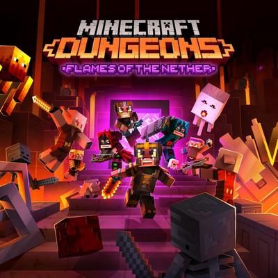 دانلود موسیقی متن بازی Minecraft Dungeons: Flames of the Nether