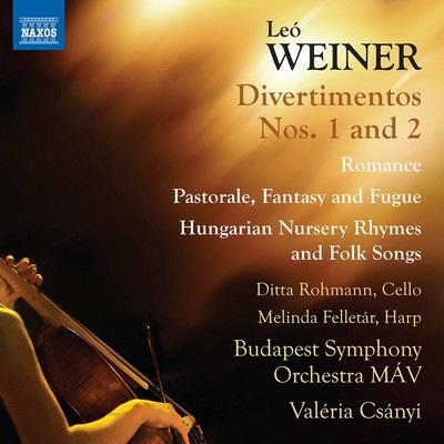 دانلود موسیقی متن فیلم Weiner: Complete Orchestral Works, Vol. 3