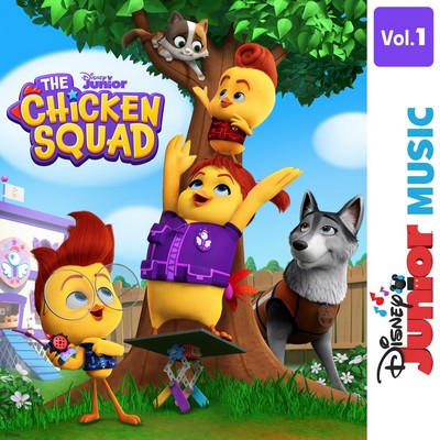 دانلود موسیقی متن سریال Disney Junior Music: The Chicken Squad