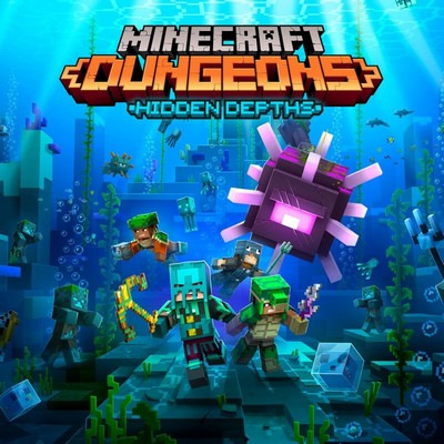 دانلود موسیقی متن فیلم Minecraft Dungeons: Hidden Depths