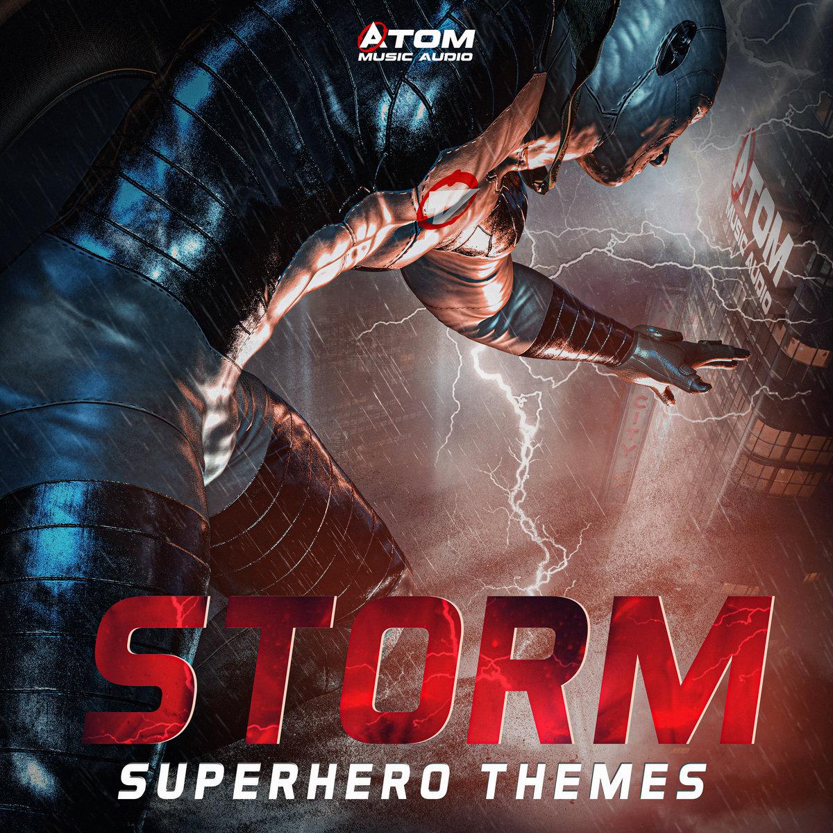 دانلود آلبوم موسیقی Storm: Superhero Themes توسط Atom Music Audio