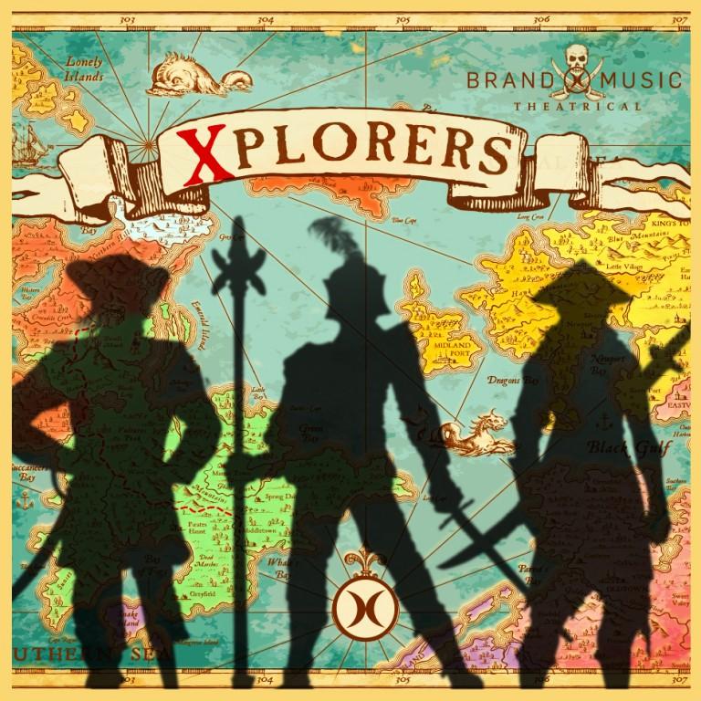دانلود آلبوم موسیقی Xplorers توسط Brand X Music